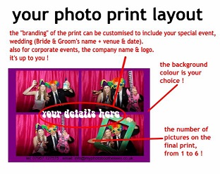 DJ Gavin Vaclavik photo booth hire customised picture