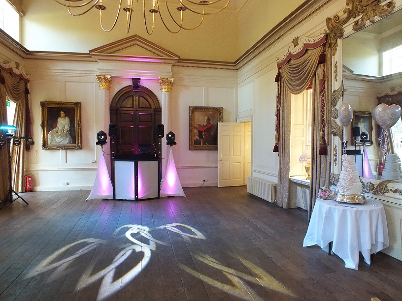 dj gavin vaclavik wedding at hintlesham hall suffolk